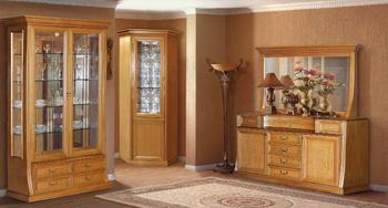 Шкафы для гостиной Верона 2871 Шкаф для посуды 2-х дверный за 44 519 руб