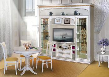 Шкафы для гостиной Верона 2899 Шкаф комбинированный за 62 357 руб