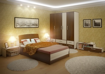 Спальни Спальня ЗЕТА за 8 400 руб