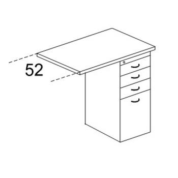 Тумбы Тумба-приставка к рабочему месту Karstula (фолдинг), универсальная за 10 386 руб
