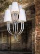 Светильник подвесной Lilie C WH, белый, хром. мет. за 34900.0 руб