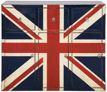 Комоды Комод с тремя ящиками Britain за 60 600 руб