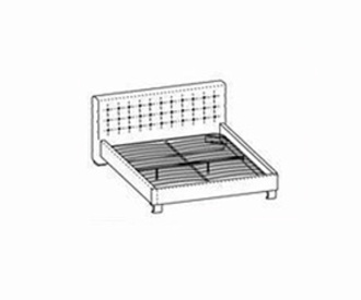 Кровати Интерьерная кровать за 22 870 руб