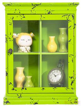 Буфеты и витрины Бар подвесной Little Something, зеленый за 7 800 руб