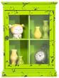Мебель для кухни Бар подвесной Little Something, зеленый за 7800.0 руб