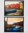 Картины, панно Картина Canale Grande Vintage 34x47 см Assorted за 5600.0 руб