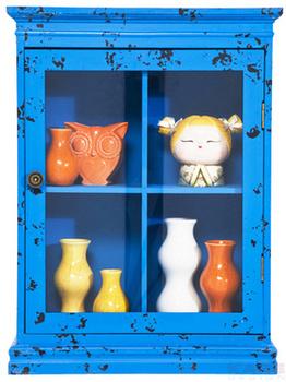 Буфеты и витрины Бар подвесной Little Something, синий за 7 800 руб