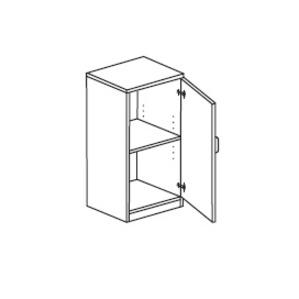 Мебель для персонала Шкаф с распашными дверьми правый за 4 883 руб