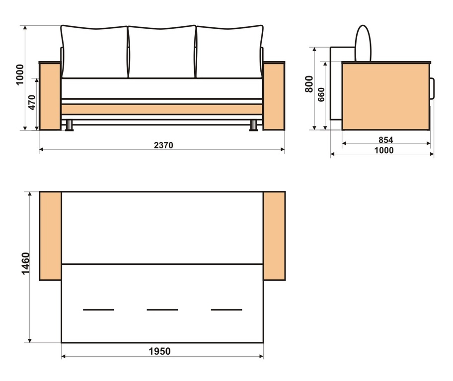 Ортопедическое диван своими руками