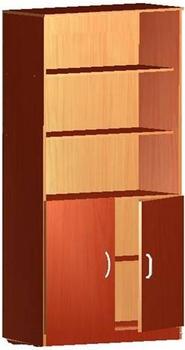 Мебель для персонала Шкаф книжный полуоткрытый за 3 960 руб