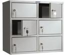 Офисная мебель Индивидуальный шкаф кассира - AMB-45/6 за 4720.0 руб