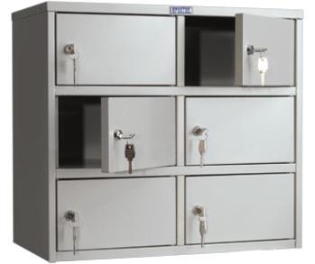 Сейфы и металлические шкафы Индивидуальный шкаф кассира - AMB-45/6 за 4 720 руб