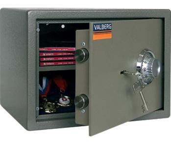 Сейфы и металлические шкафы Мебельный сейф - VALBERG ASM - 25CL за 7 350 руб