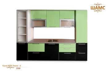 Кухонные гарнитуры Кухня МДФ Лиана - 6 за 37 230 руб