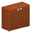 Офисная мебель Низкий шкаф с деревянными дверцами за 17005.0 руб