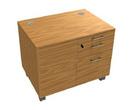 Корпусная мебель Тумба выкатная, 3 ящика, 1 лоток, отделение под систем. блок за 58244.1 руб