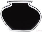 Изделия из стекла Ваза Рамка Black 25 за 3700.0 руб