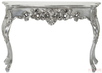 Туалетные столики Стол пристенный Ornament Silver Antique Big за 27 600 руб