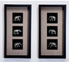 Рамка декоративная Elephants 60x30cm (в ассорт.)