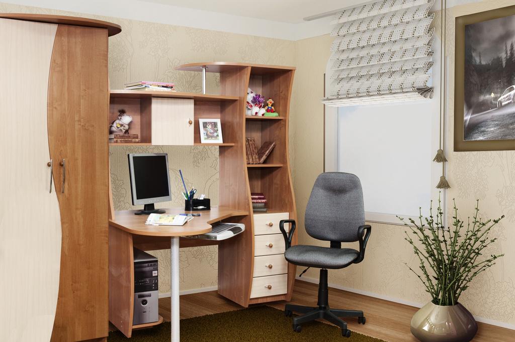 """Стол компьютерный """"архимед"""" от м-класс, сеть мебельных салон."""