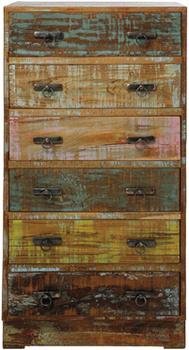 Комоды Комод высокий Vintage Colore, 6 ящиков за 54 900 руб