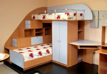 Детские кровати Детская кровать двухъяростная за 15 000 руб