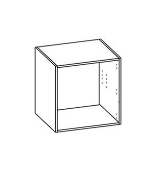 Гостиные Шкаф настенный со стеклом за 6 837 руб