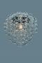 Светильник подвесной Glose С2, прозрачный, хром. мет.