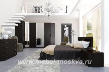 """Спальни Коллекция мебели для спальни """"Блюз"""" за 33 250 руб"""