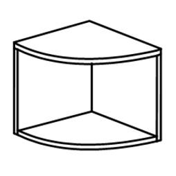 Мебель для персонала Антресоль за 2 541 руб