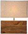 Светильник настольный Wood прямоугольный, бежевый за 5200.0 руб