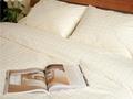 Постельное белье «Квадрат в квадрате», шампань 1.5-спальный