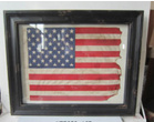Картины, панно Картина рамка Stars and Stripes Flag 82x102 см за 12800.0 руб