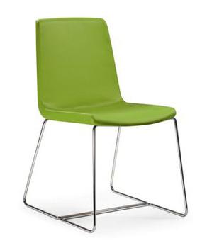 Кресла и стулья для посетителей Кресло для посетителей Petit Amelie на полозьях за 28 330 руб