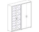 Офисная мебель Шкаф высокий за 35628.0 руб
