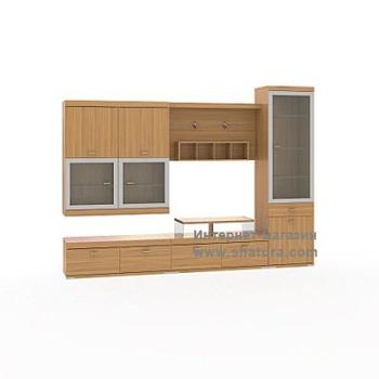 Гостиные RIVA вишня за 37 660 руб
