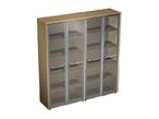 Офисная мебель Шкаф для документов со стеклянными дверьми за 94821.0 руб