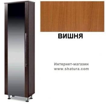 Прихожие Шкаф для одежды с зеркалом Токио (вишня) за 7 330 руб