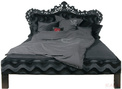 Постель Mink 180x200 Black