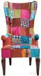 Мягкая мебель Кресло с подлокотниками Patchwork Velvet за 70100.0 руб