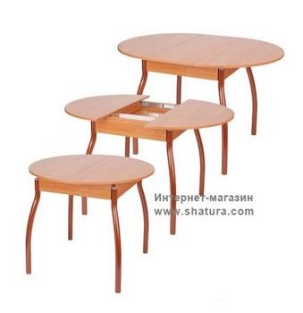 Раскладные столы Стол раздвижной М4 (900/1200х900х750) за 9 190 руб
