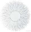 Зеркало Flame Round 110 см за 32500.0 руб
