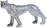 Фигура декоративная Leopard Glitter 15 см