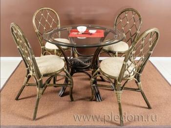 Обеденные группы Плетёная мебель за 40 470 руб