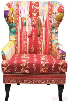 Кресла Кресло вольтеровское Patchwork за 33 200 руб