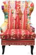 Кресло вольтеровское Patchwork за 33200.0 руб