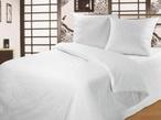 Белое постельное белье «White Percale»  2-спальный за 2650.0 руб