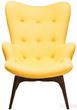 Мягкая мебель Кресло Angels Wings, желтое за 44300.0 руб