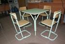 Детский регулируемый стол(1-3гр.роста)