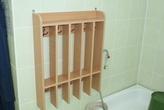 Корпусная мебель Вешало для полотенец на 5 секций за 1403.0 руб